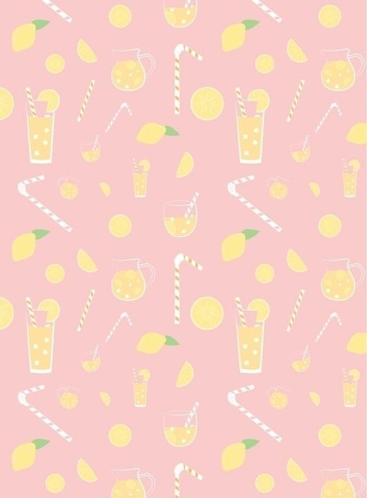 lemonade themed pattern designe - svaeth | ello