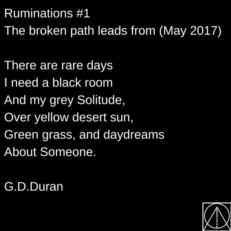 Ruminations broken path leads 2 - gdduran | ello