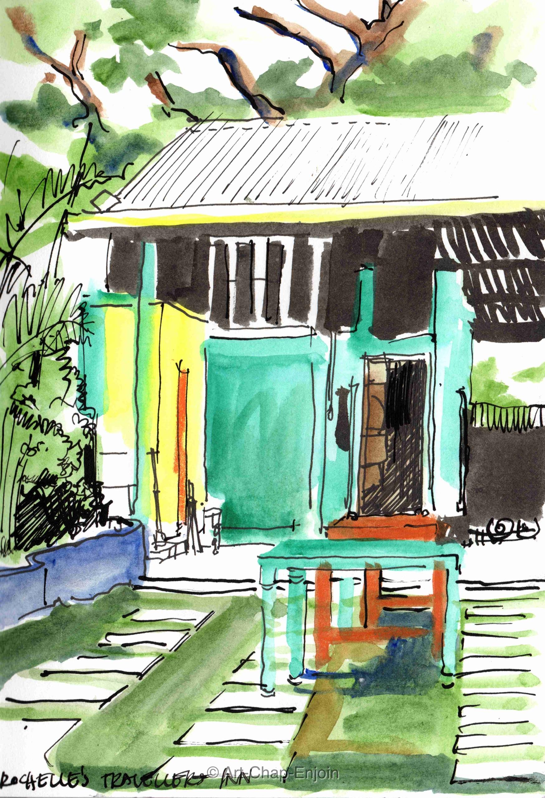 - Inn sketches Baler garden pla - artchapenjoin | ello