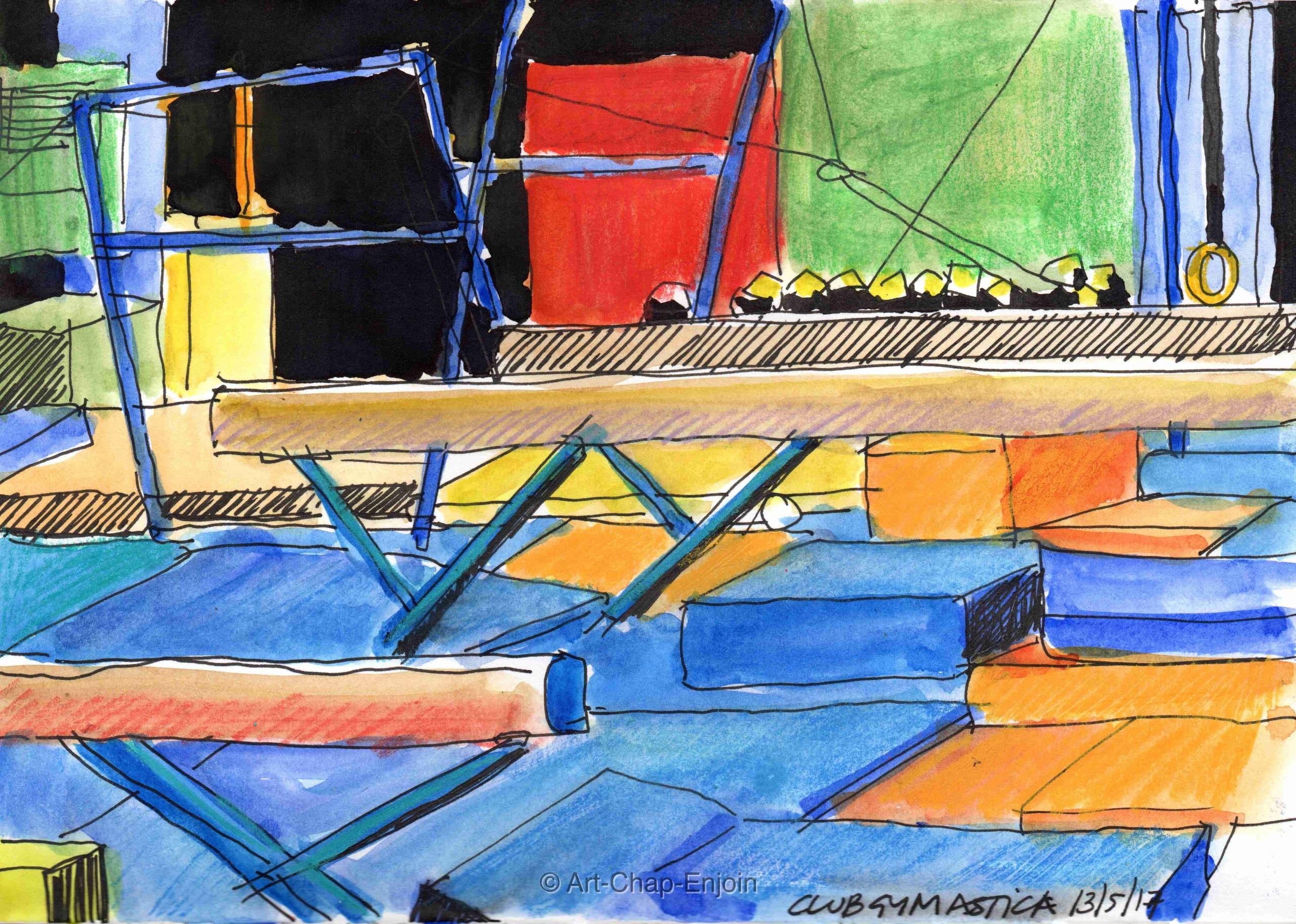 – Club Gymastica tire sketching - artchapenjoin | ello