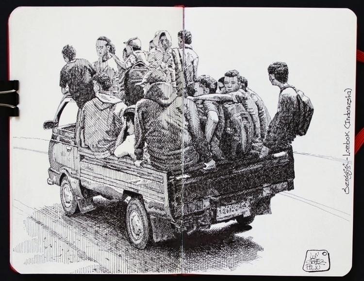 team travel Faber-Castell pen u - luisgof | ello