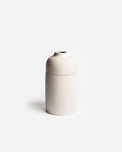 White Vase Šiaurė - vase, plants - mauudhi | ello