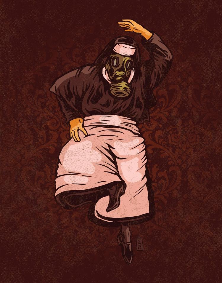 Spiritally Toxic - illustration - thomcat23 | ello