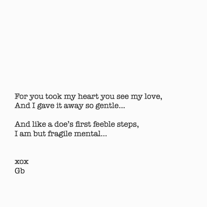 Gently gave heart... * shortpoe - goldenbirdiewrites | ello