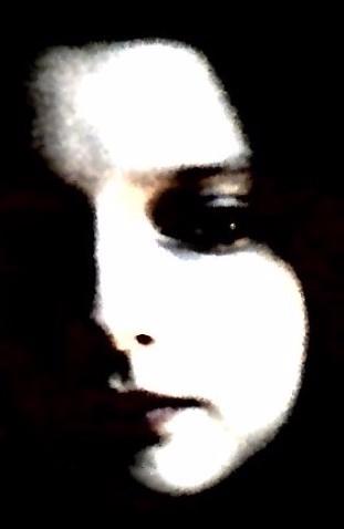 Pale Shadowface mirror reflecti - uniquegirl   ello