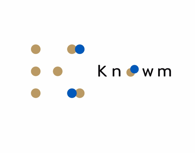 Knowm Logo Design. Original Des - cubey_studio | ello