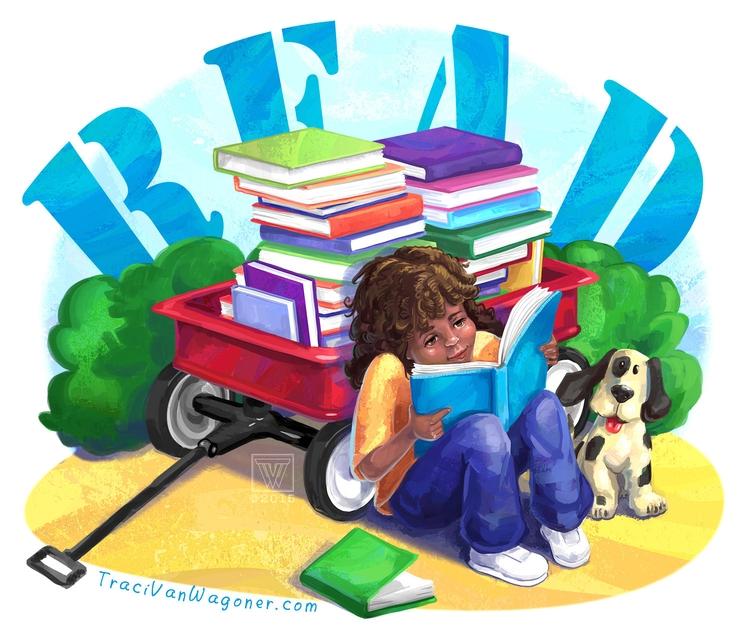 Book Week. read fun - kidlitart - tracivw | ello