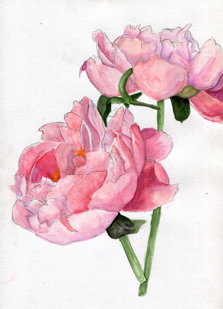 Full Hearts Watercolor Gouache  - havekat | ello
