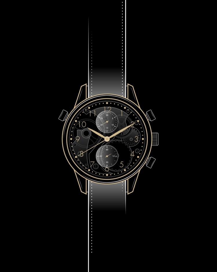 IWC watch 4 luxury items illust - andyhau | ello