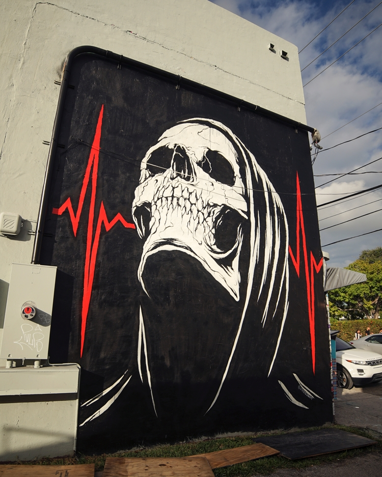 mural, streetart, illustration - jamesjirat | ello