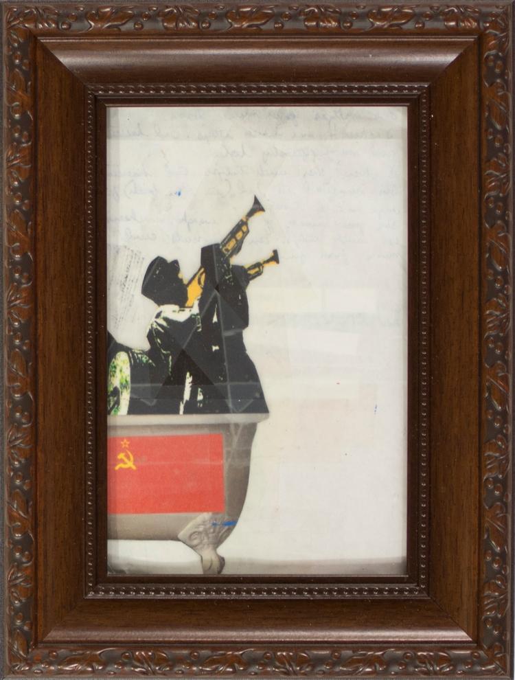 Bolshevik Bath - art, collage - jkalamarz | ello