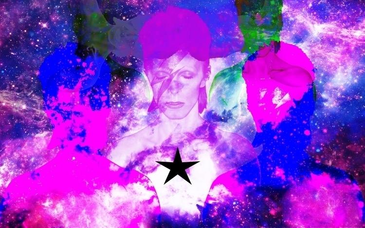David Bowie (Photomanip - paran01d_andr01d | ello