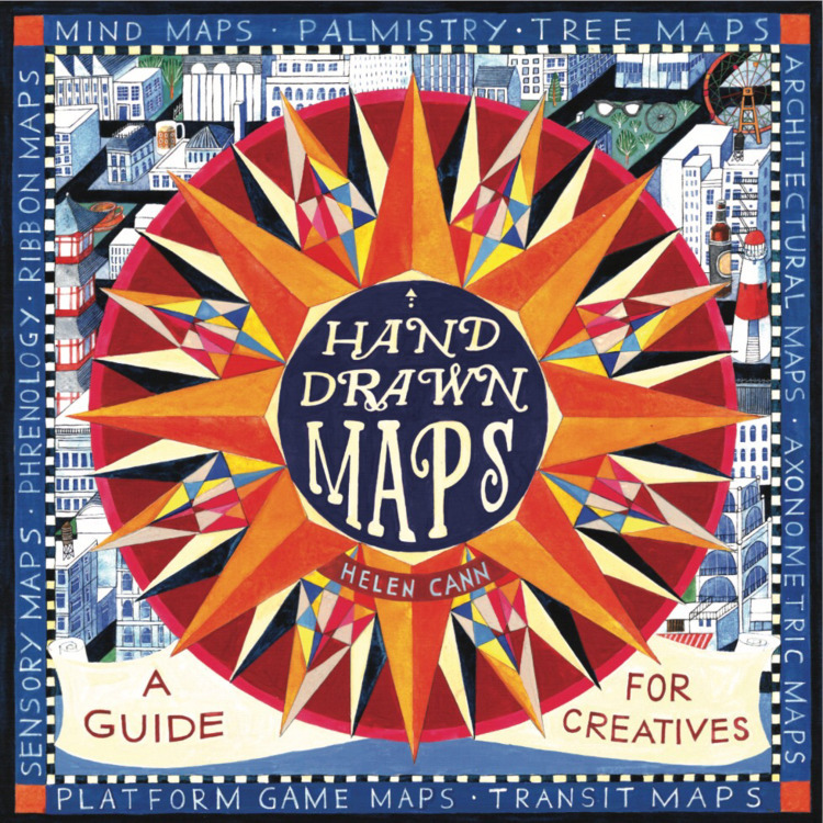 cover 'Hand Drawn Maps', publis - helencann | ello