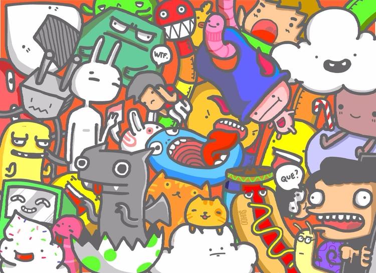 step 4- colored - doodle, stepbystep - suhodmutalib | ello