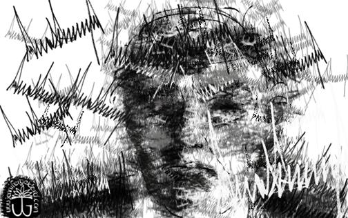 Unglued Digital Portrait photos - glassgirl | ello