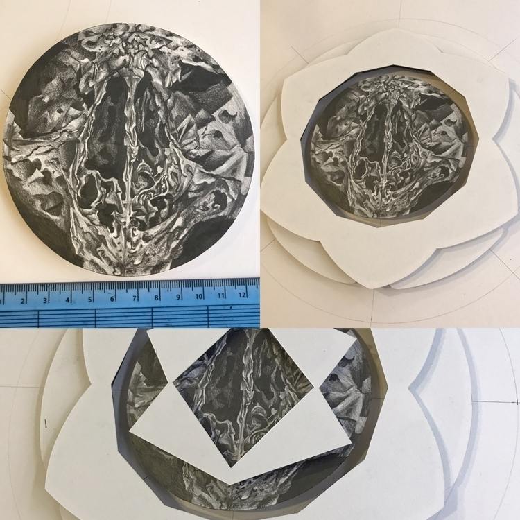 layer small (20cm diameter) mul - michaelhenleyart | ello