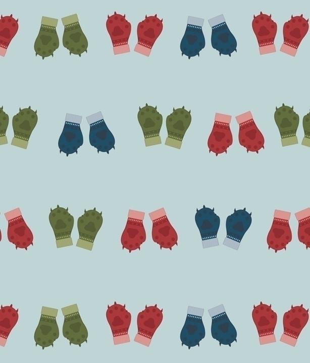 Kitten Mittens based pattern de - svaeth | ello