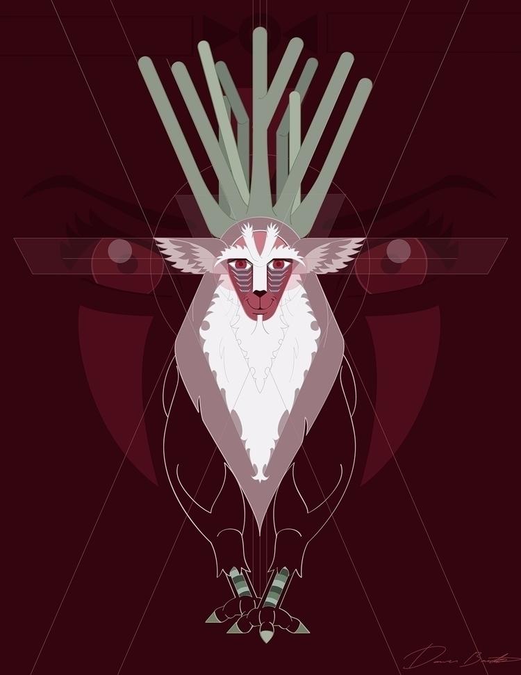 Forest Spirit Princess Mononoke - donavon-1428 | ello
