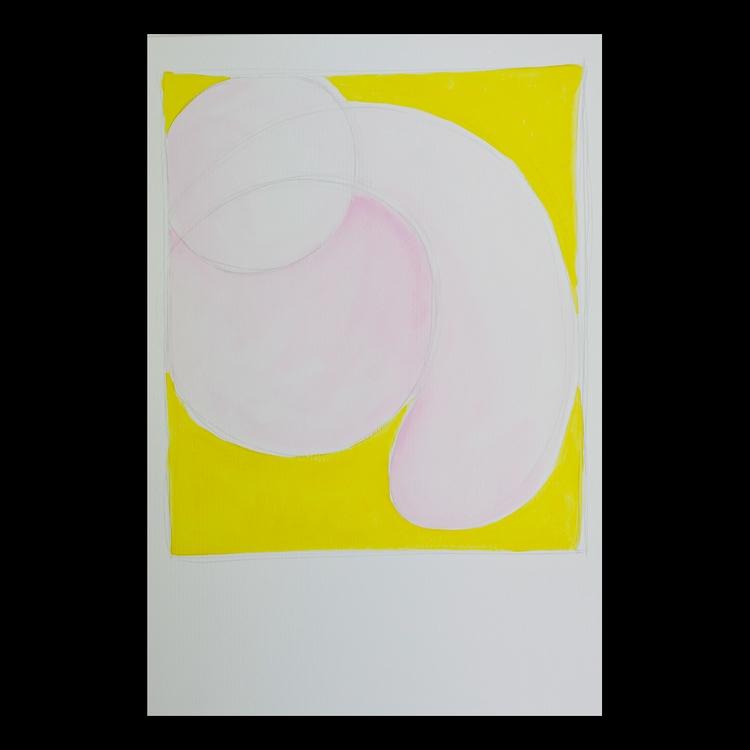 'cock art comp) Acrylic graphit - matthewschiavello | ello
