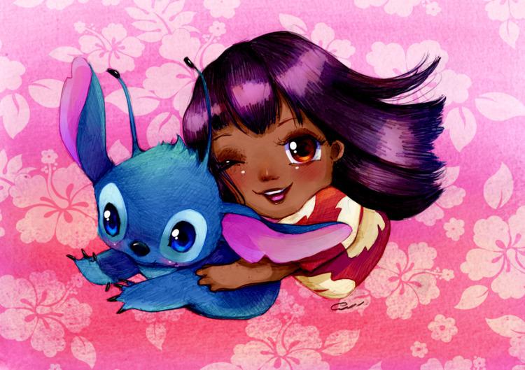 Lilo Stitch colorist project Ca - princessmisery | ello