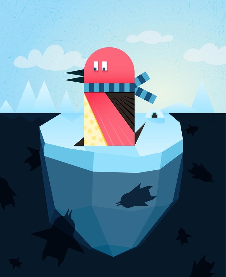 pinguin - davidgore, davidgoreillustration - davidgore | ello