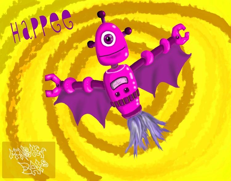 Character Concept: Monster Bats - staciearguello-clements | ello