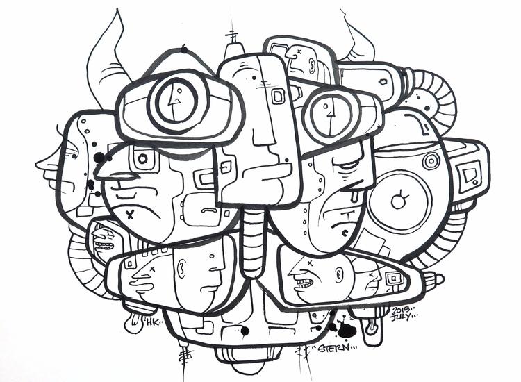 Electric Bull // Stern Rockwell - sternrockwell | ello