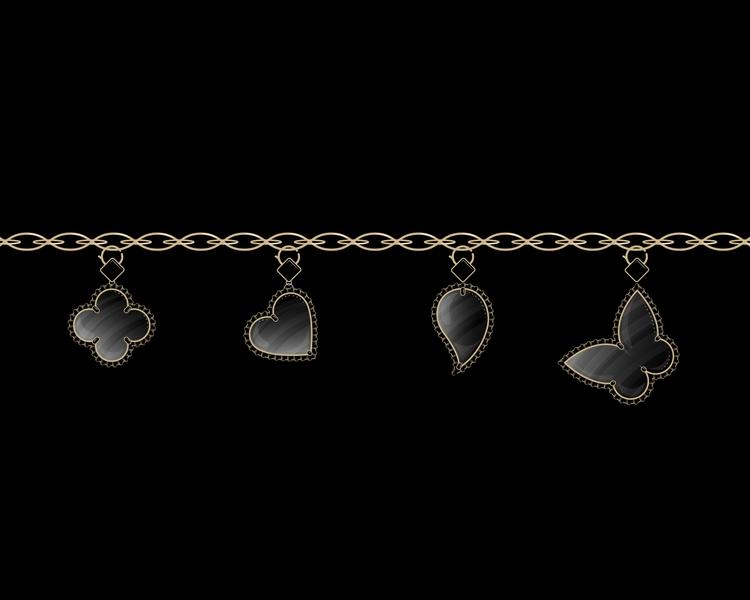 Van Cleef charm bracelet drew p - andyhau | ello