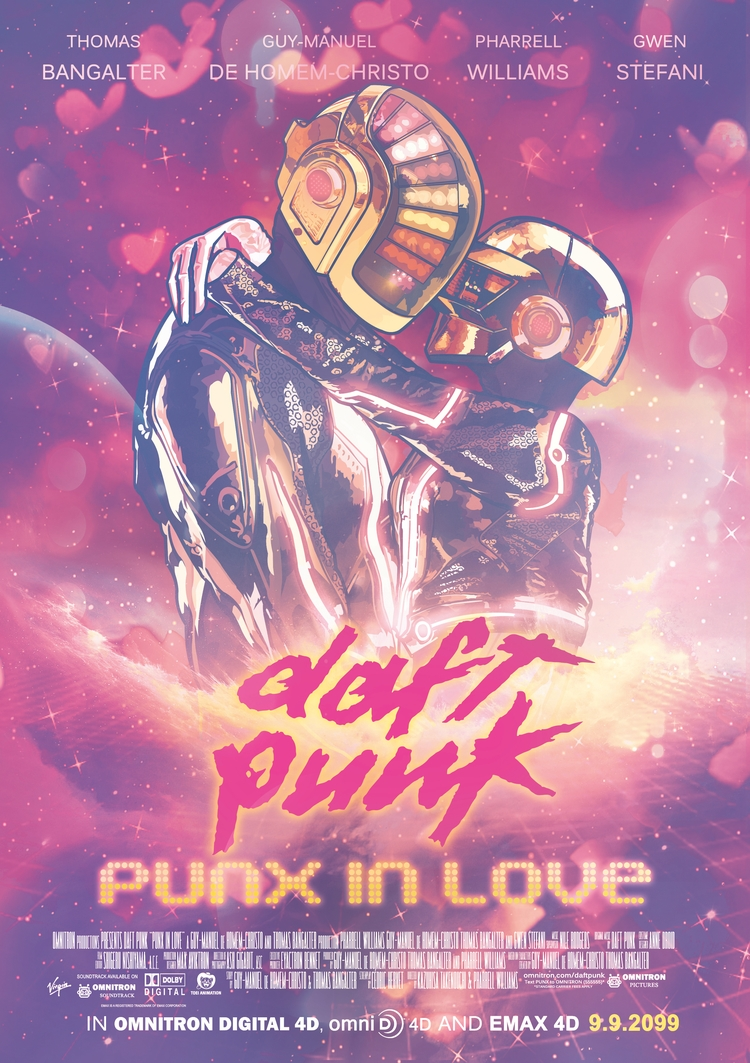 DAFT PUNK: PUNX LOVE - illustration - melissacookart | ello