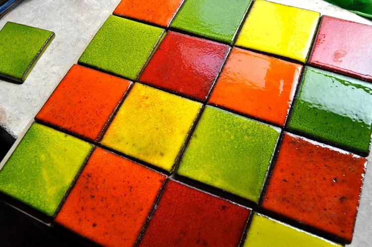 Vibrant Salsa Art glazes Royce  - roycewood | ello