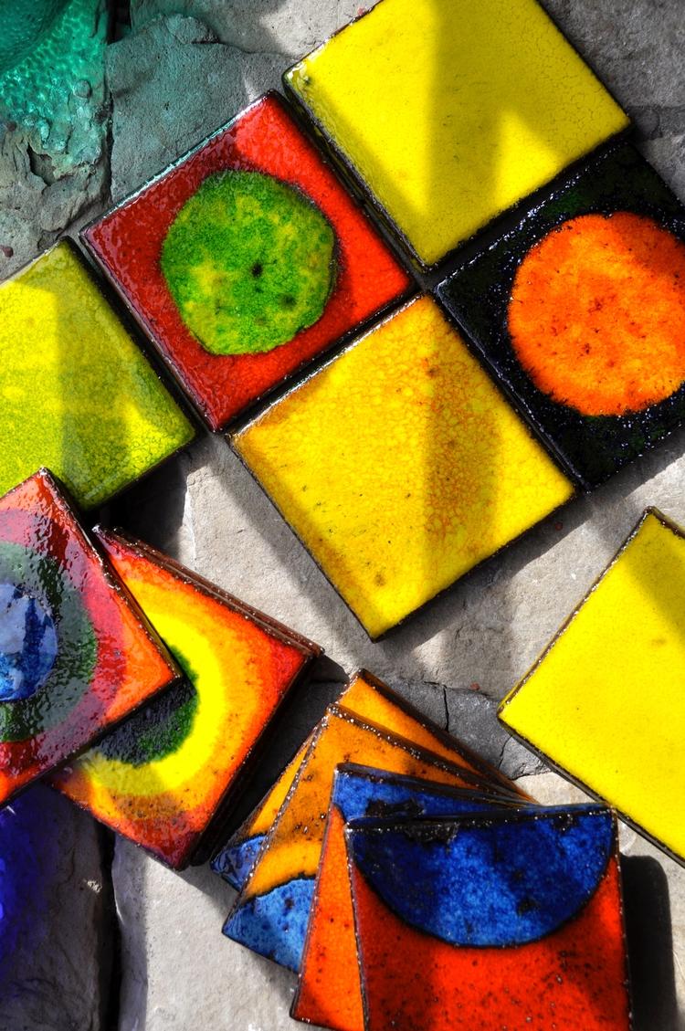 Vibrant Salsa ceramic art glaze - roycewood | ello
