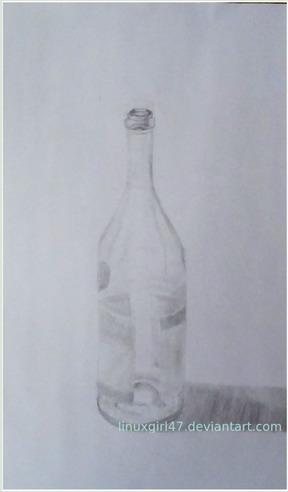 Wine Bottle - linuxgirl | ello