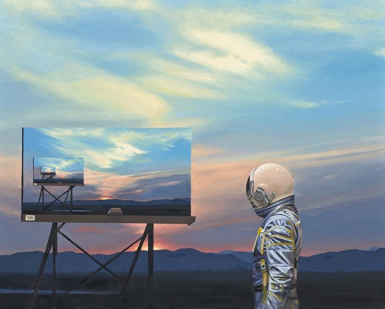 Scott Listfield: Astronauts, Cr - scene360 | ello