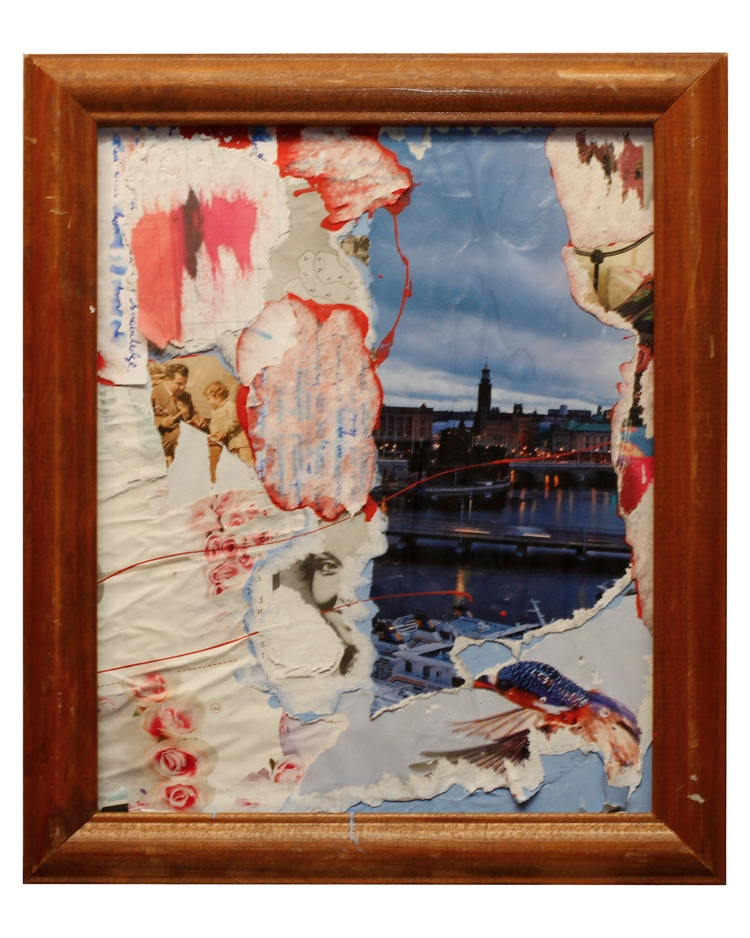 Land Stateside - art, collage, texture - jkalamarz | ello