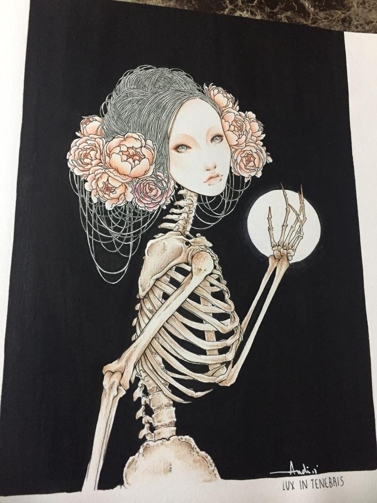 Lux tenebris - andisoto, illustrator - andimacka | ello