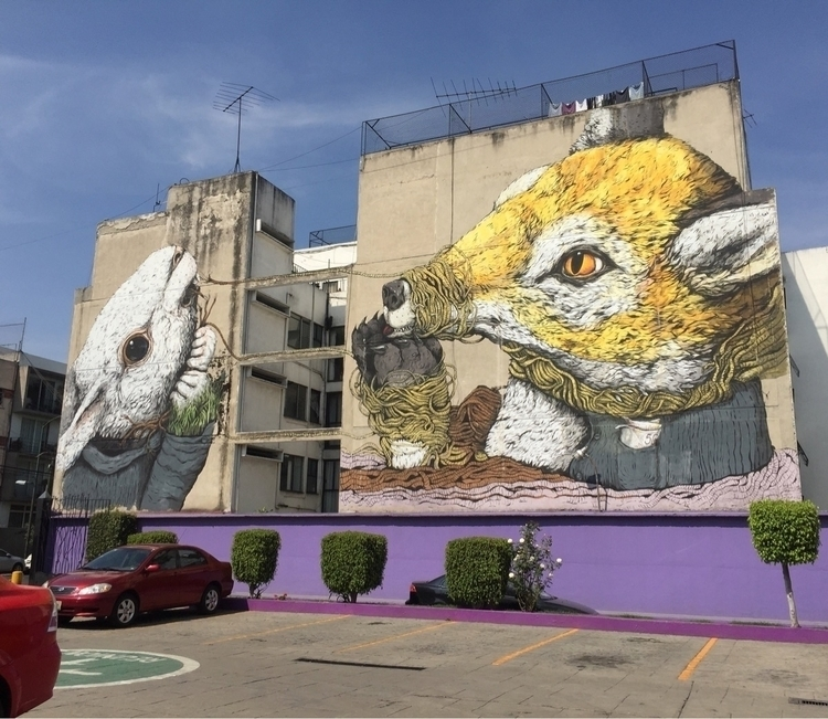 Nice view chilaquiles. mural st - helliongallery | ello