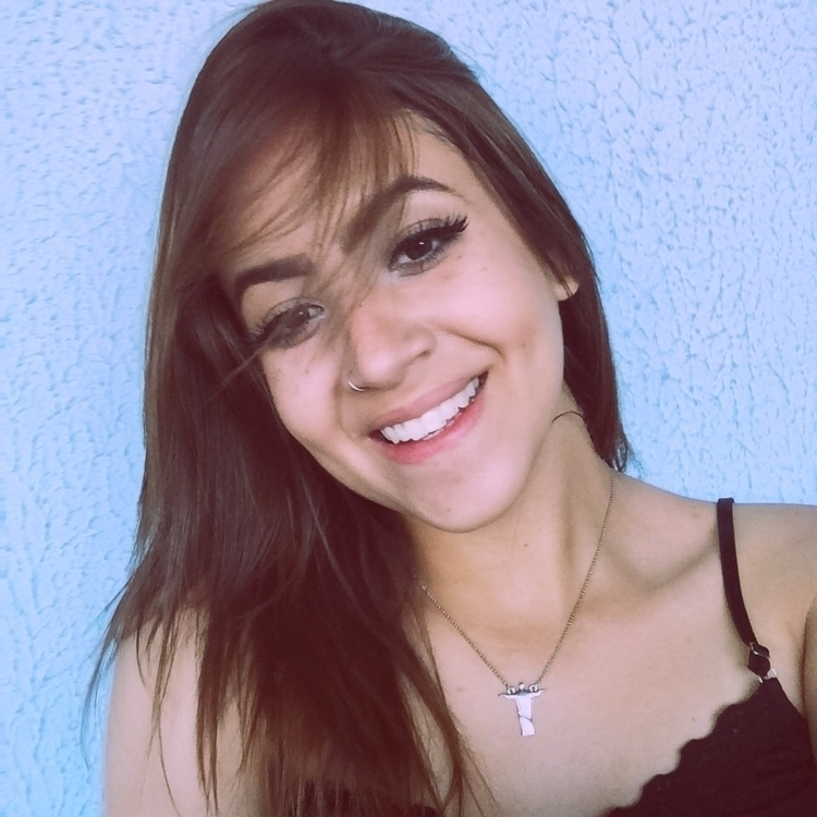 Sempre sorrindo! Nunca desistir - iancagomes | ello