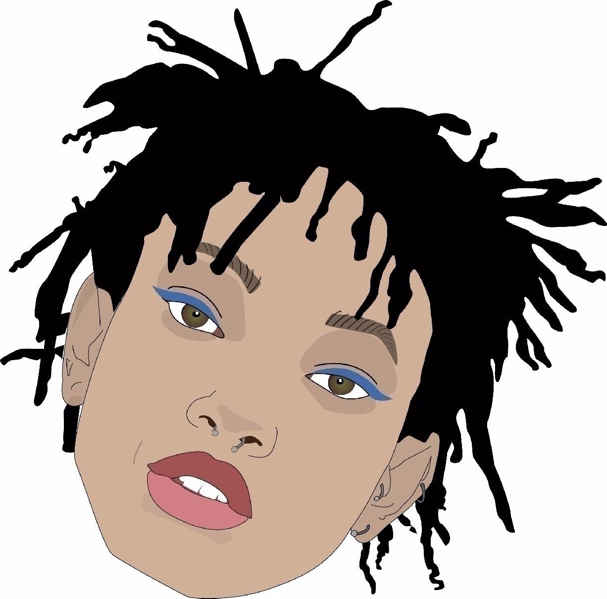 vector portrait Willow Smith - axregehr | ello