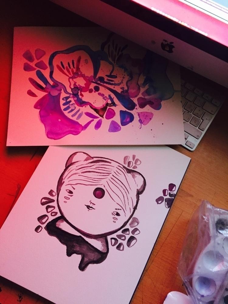 Midnight - doodles - merr | ello