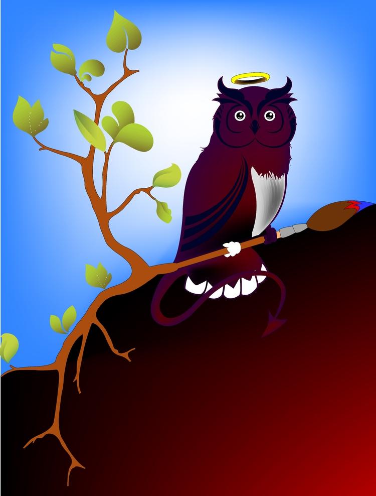 WiseOwl Illustration - wisestowl | ello