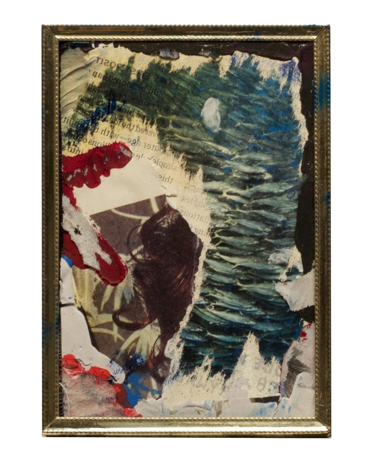 Ocean Distance - art, collage, abstract - jkalamarz | ello