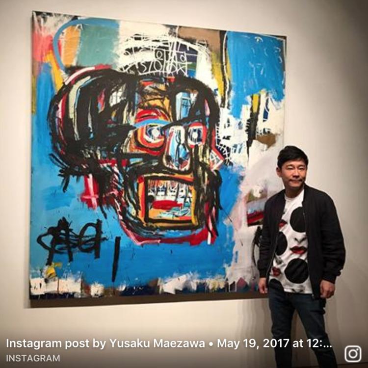 Yusaku Maezawa acaba de comprar - hedbanger   ello