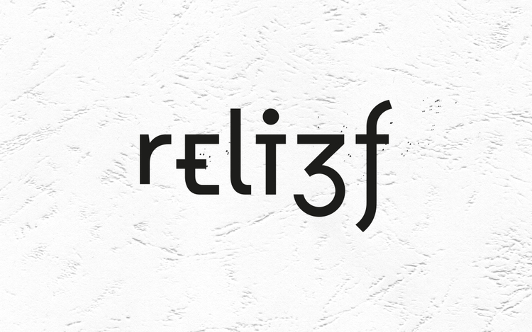 reli3f Creative Agency - typography - lencreur | ello