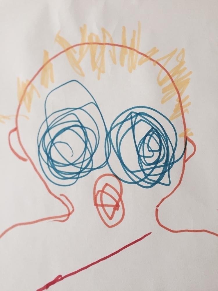 Faces2 - art, face - maccino | ello