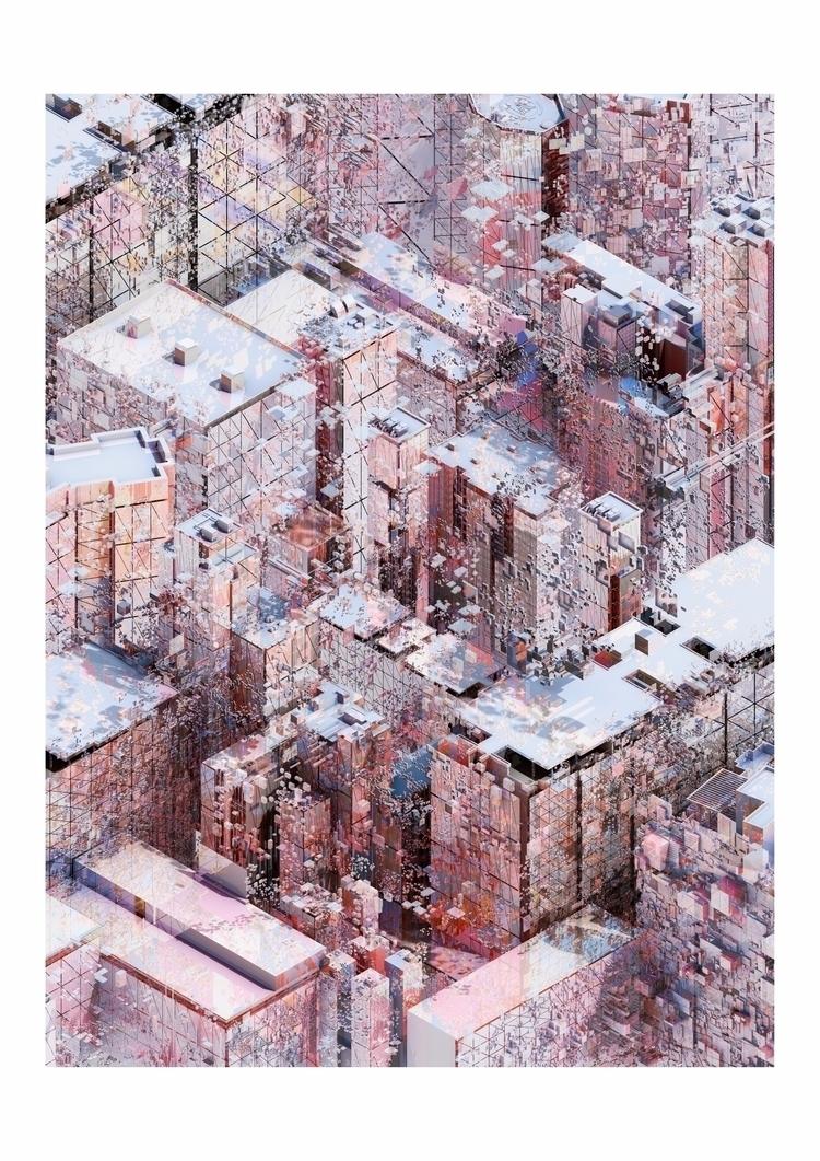 augmented, pixel, city, speculative - neugenia | ello