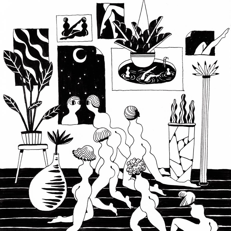 Poster room - illustration, drawing - yuhsuan | ello