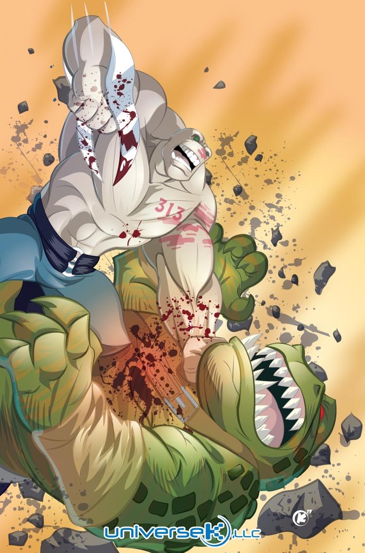 Brawl - gator, monster, monsters - universek | ello