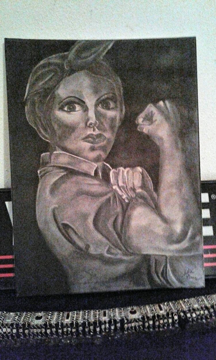 Charcoal Canvas - art, charcoaldrawing - tabithasoleil | ello