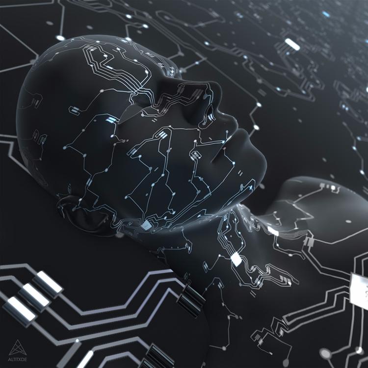 FUTURE HUMAN - 3d, digitalart, cyberpunk - altitxde | ello