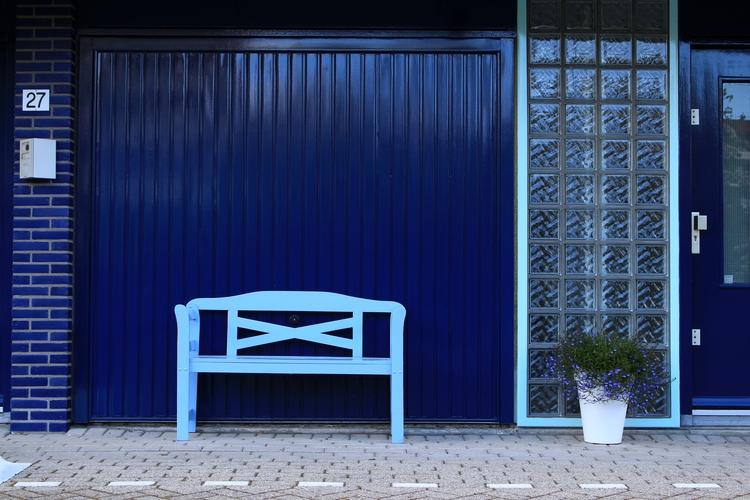 Fifty shades blue - garage, door - jpetrovic | ello